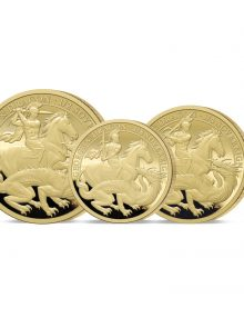 The 2021 George and the Dragon 200th Anniversary Gold Fractional Set