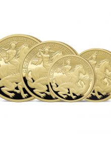 The 2021 George and the Dragon 200th Anniversary Gold Prestige Set