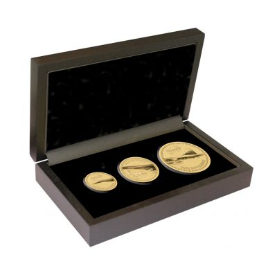 The 2019 Concorde 50th Anniversary Gold Prestige Sovereign Proof Set