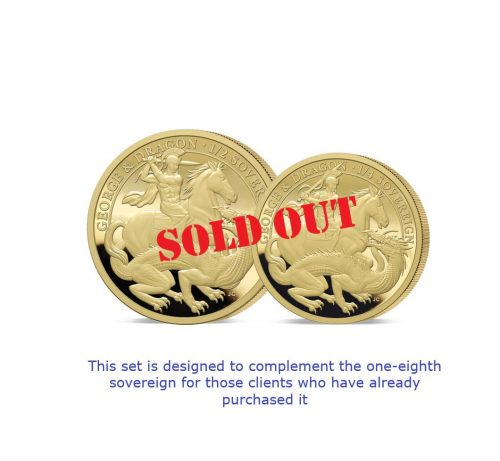 The 2021 George and the Dragon 200th Anniversary Fractional Infill Set SOLD OUT