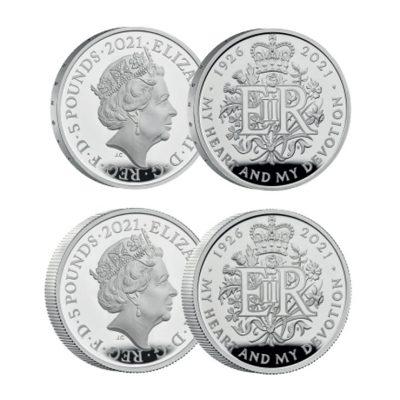Queen Elizabeth II 2021 The 95th Birthday Commemorative Silver Set