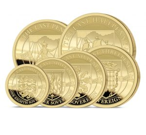 The 2020 Pre-decimal 50th Anniversary Gold Definitive Sovereign Proof Set