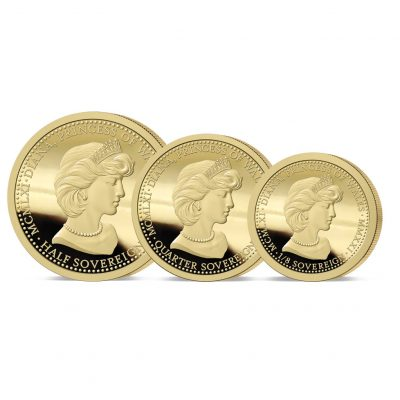The 2021 Diana 60th Birthday Gold Fractional Set