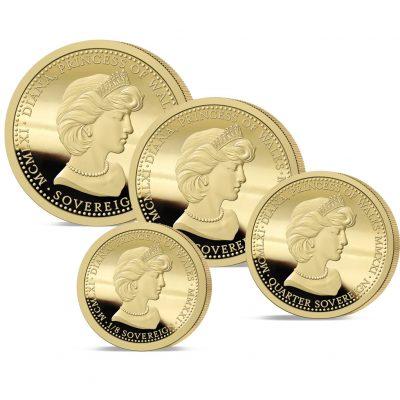 The 2021 Diana 60th Birthday Gold Prestige Set