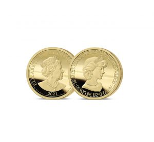 The 2021 Diana 60th Birthday Gold Proof Quarter Sovereign