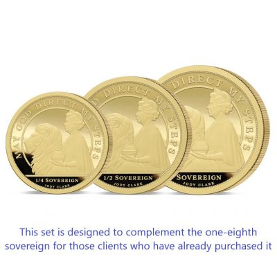 The Queen's 95th Birthday Prestige Infill Gold Sovereign Set