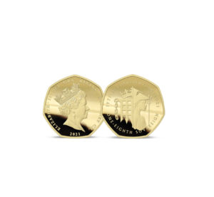 The 2021 50th Anniversary of Decimalisation Gold One-Eighth Sovereign