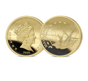 The 2020 Mayflwoer 400th Anniversary Gold Double Sovereign
