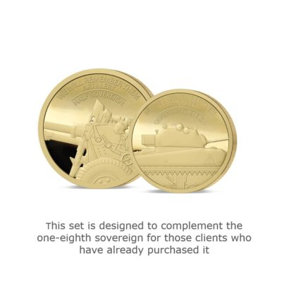 We Will Remember Them Gold Fractional Infill Set
