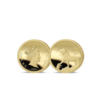 We Will Remember Them Gold One-Eighth Sovereign